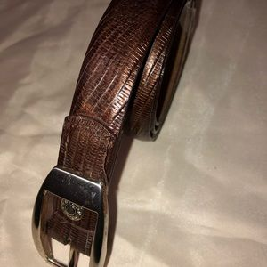Kenneth Cole Italian leather Belt